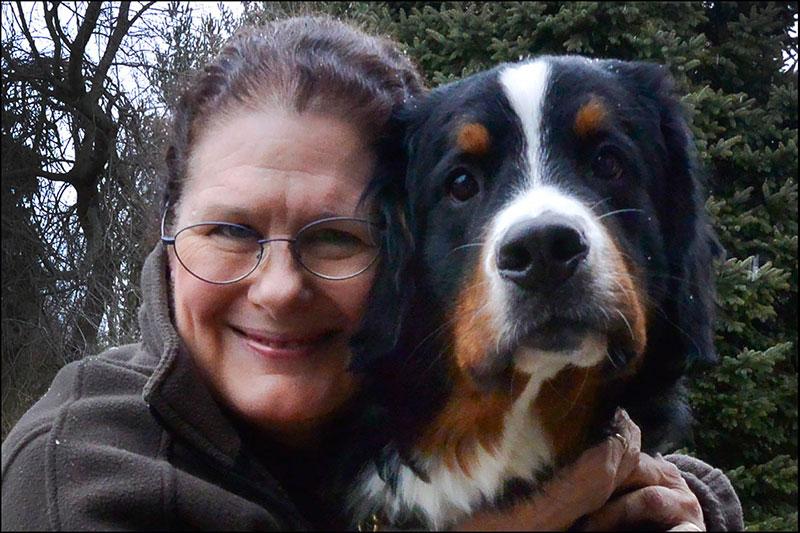 Eileen and Teddy (©2014 Eileen Blass)